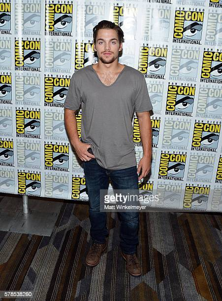 Actor Dylan Sprayberry attends the 'Teen Wolf' press line during ComicCon International 2016 at Hilton Bayfront on July 21 2016 in San Diego...