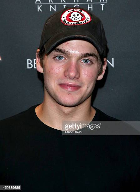 Actor Dylan Sprayberry attends Warner Bros Interactive Entertainment's 'Cape/Cowl/Create' event in downtown San Diego a celebration of the iconic...