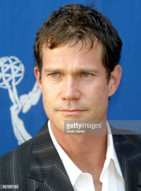 """Actor Dylan Walsh arrives at the Academy of Television Arts and Sciences' """"Behind The Scenes Double Header"""" with FX's """"The Shield"""" and """"Nip/Tuck"""" at..."""