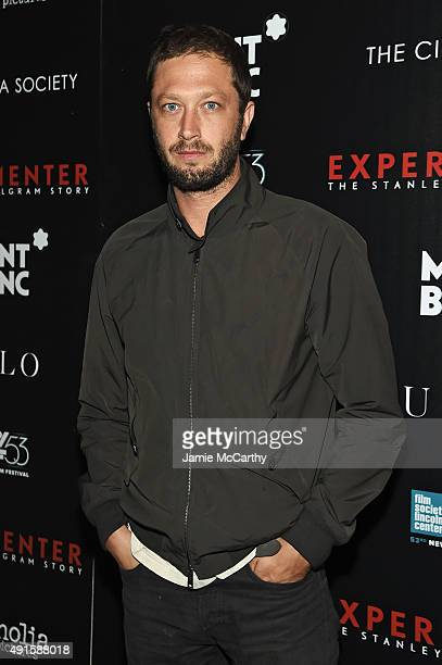 Actor Ebon Moss attends The New York Film Festival Premiere Of Magnolia Pictures' Experimenter hosted by Montblanc & The Cinema Society at PH-D...