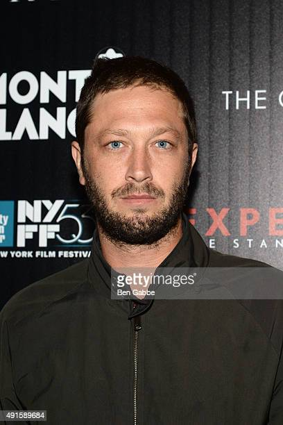 """Actor Ebon Moss attends the party for the 53rd New York Film Festival's premiere of Magnolia Pictures' """"Experimenter"""" hosted by Montblanc and The..."""