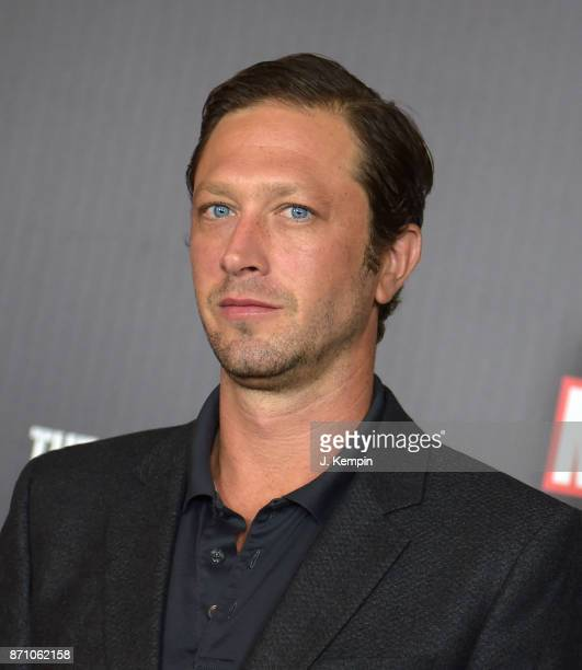 Actor Ebon MossBachrach attends the 'Marvel's The Punisher' New York Premiere on November 6 2017 in New York City