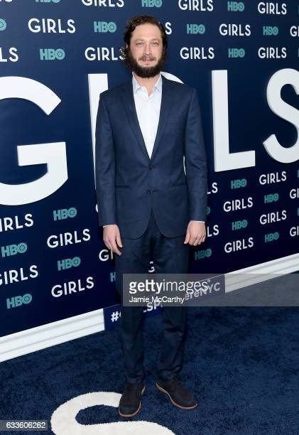 """Actor Ebon Moss-Bachrach attends The New York Premiere Of The Sixth & Final Season Of """"Girls"""" at Alice Tully Hall, Lincoln Center on February 2, 2017..."""