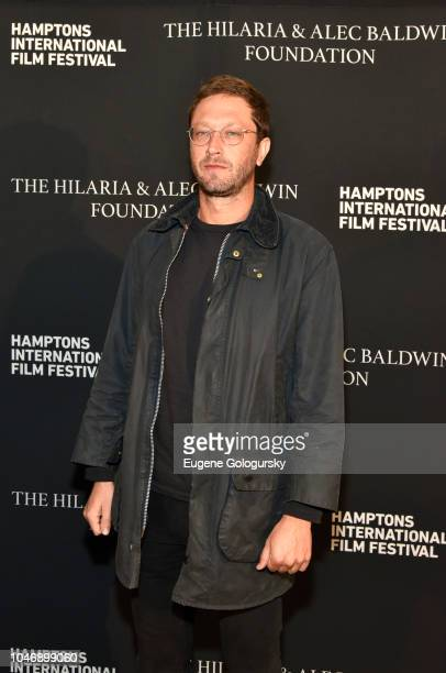 Actor Ebon Moss-Bachrach attends the red carpet and Chairman's Reception at Suna Residence during Hamptons International Film Festival 2018 - Day...