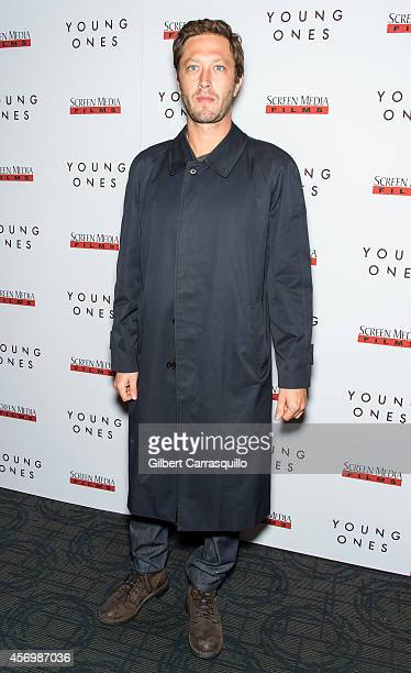 Actor Ebon Moss-Bachrach attends 'The Young Ones' New York Premiere at Sunshine Landmark on October 9, 2014 in New York City.