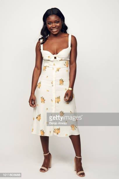 Actor Ebonee Noel of CBS's 'FBI' poses for a portrait during the 2018 Summer Television Critics Association Press Tour at The Beverly Hilton Hotel on...