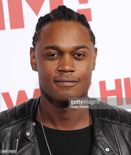 Actor Echo Kellum arrives at the premiere of 20th Century Fox's Why Him at Regency Bruin Theater on December 17 2016 in Westwood California