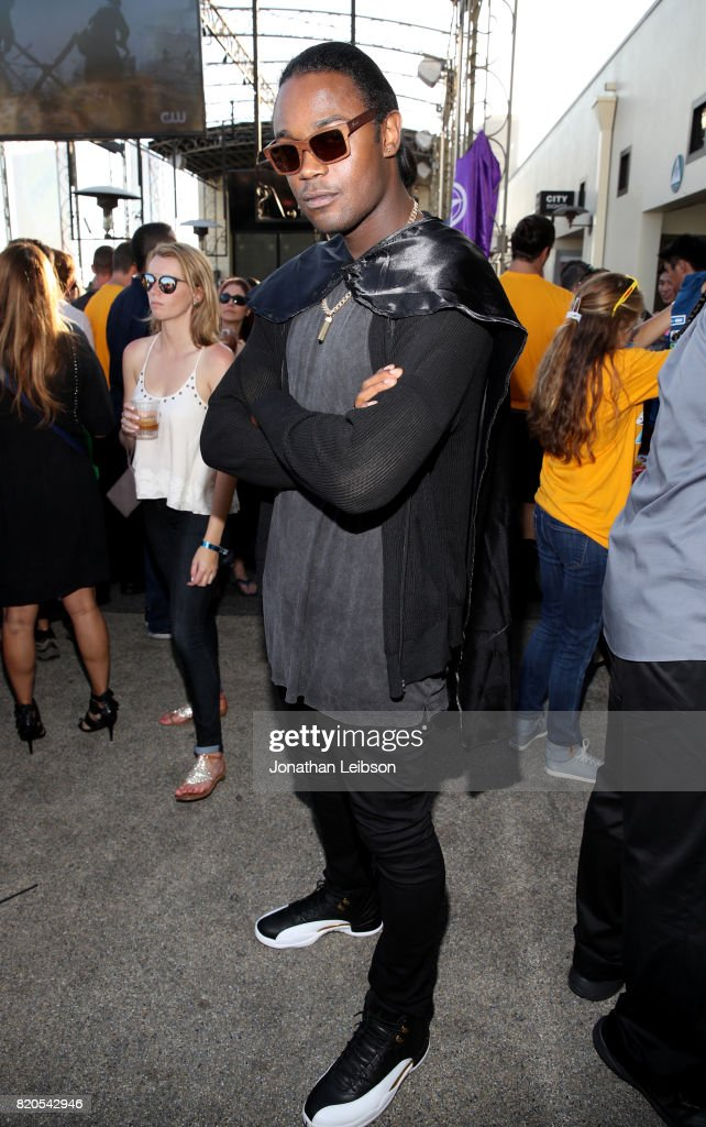 Actor Echo Kellum at BuzzFeed & The CW Present SRSLY The Best Damn Superhero Party! on July 21, 2017 in San Diego, California.