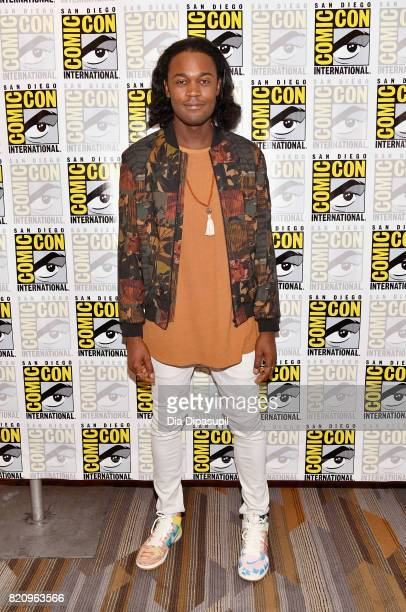 Actor Echo Kellum at the 'Arrow' Press Line during ComicCon International 2017 at Hilton Bayfront on July 22 2017 in San Diego California