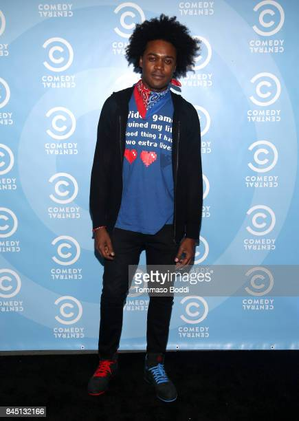 Actor Echo Kellum attends Comedy Central's Emmy Party at Boulevard3 on September 9 2017 in Hollywood California