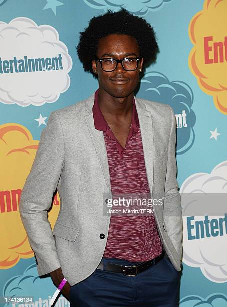 Actor Echo Kellum attends Entertainment Weekly's Annual ComicCon Celebration at Float at Hard Rock Hotel San Diego on July 20 2013 in San Diego...