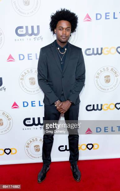 Actor Echo Kellum attends the 14th Annual Brass Ring Awards Dinner at The Beverly Hilton Hotel on June 8 2017 in Beverly Hills California