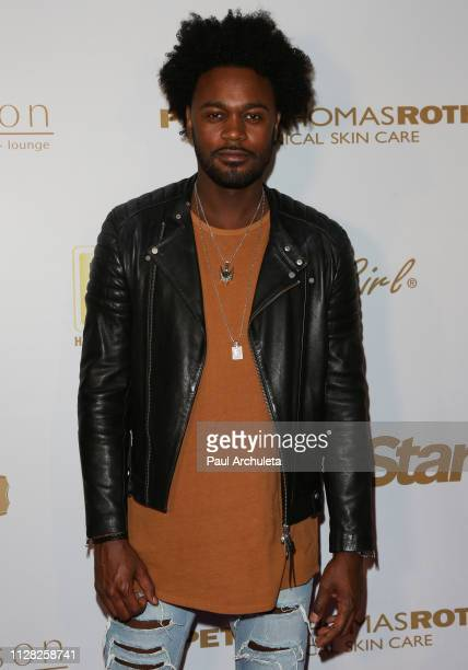 Actor Echo Kellum attends the 2019 PreGRAMMY event presented by OK Star In Touch and Life Style magazines at the Liaison Restaurant on February 07...