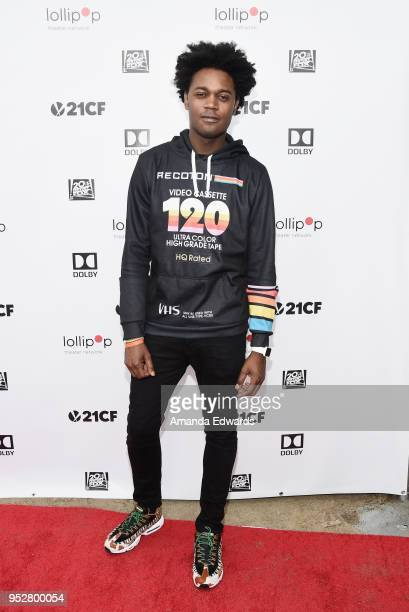 Actor Echo Kellum attends the 2nd Annual Lollipop Superhero Walk benefiting the Lollipop Theater Network at Pan Pacific Park on April 29 2018 in Los...