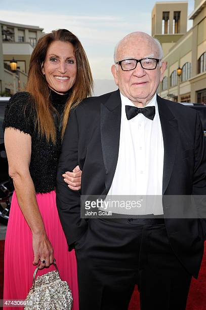 Actor Ed Asner and daughter Liza Asner attend the 45th NAACP Image Awards presented by TV One at Pasadena Civic Auditorium on February 22 2014 in...