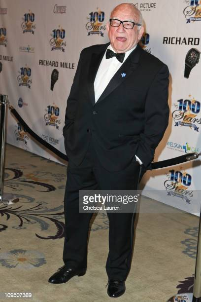 Actor Ed Asner arrives at the 21st Annual Night of 100 Stars Awards Gala at Beverly Hills Hotel on February 27, 2011 in Beverly Hills, California.