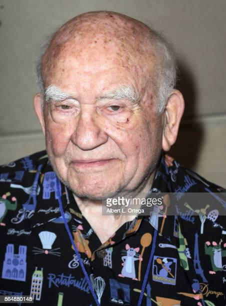 Actor Ed Asner at The Hollywood Show held at Westin LAX Hotel on October 21 2017 in Los Angeles California