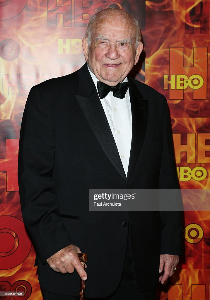 Actor Ed Asner attends HBO's Official 2015 Emmy After Party at The Plaza at the Pacific Design Center on September 20, 2015 in Los Angeles, California.
