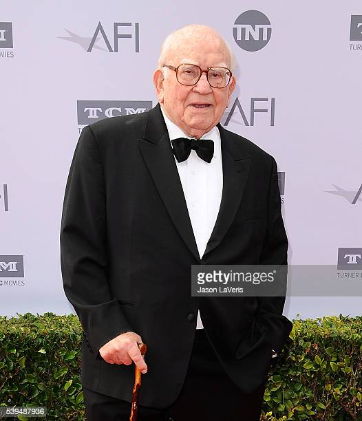 Actor Ed Asner attends the 44th AFI Life Achievement Awards gala tribute at Dolby Theatre on June 9 2016 in Hollywood California