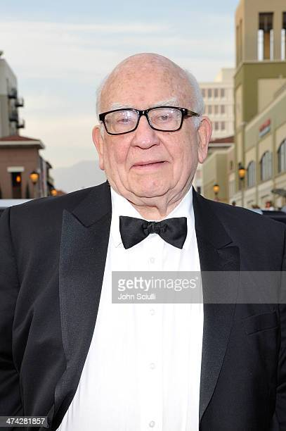 Actor Ed Asner attends the 45th NAACP Image Awards presented by TV One at Pasadena Civic Auditorium on February 22 2014 in Pasadena California