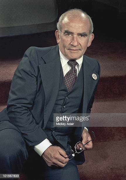 Actor Ed Asner poses for a portrait in 1981 in Washington DC