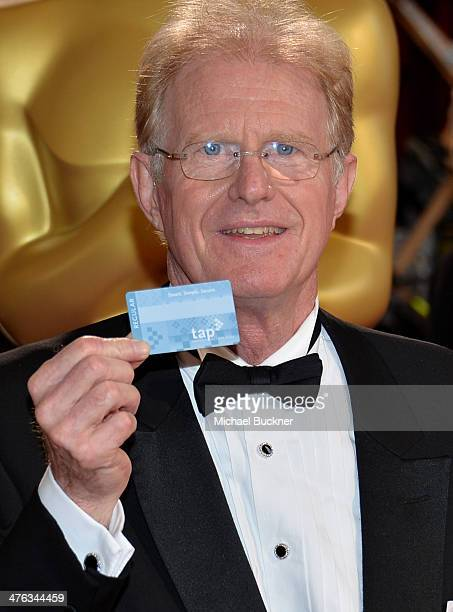 Actor Ed Begley Jr attends the Oscars held at Hollywood Highland Center on March 2 2014 in Hollywood California