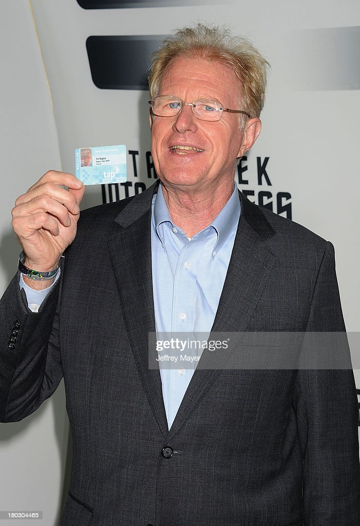 Actor Ed Begley Jr. attends the Paramount Pictures' celebration of the Blu-Ray and DVD debut of 'Star Trek: Into Darkness' at California Science Center on September 10, 2013 in Los Angeles, California.