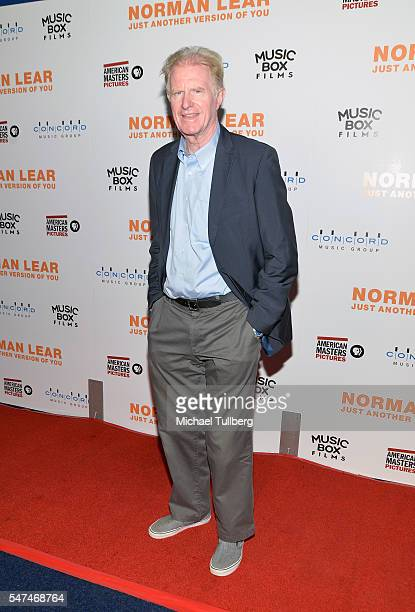 """Actor Ed Begley Jr. Attends the premiere of Music Box Films' """"Norman Lear: Just Another Version Of You"""" at The WGA Theater on July 14, 2016 in..."""