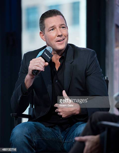 Actor Ed Burns attends the AOL Build Speaker Series Public Morals at AOL Studios In New York on August 24 2015 in New York City