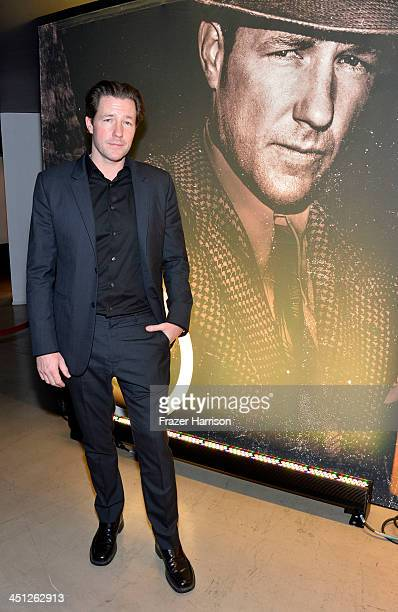 Actor Ed Burns attends TNT's Mob City Screening at TCL 6 Chinese Theatre on November 21 2013 in Hollywood California 24319_001_FH_0390JPG