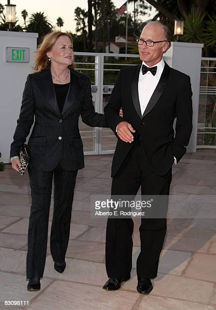 Actor Ed Harris and actress Amy Madigan arrive at the SBIFF's 3rd Annual Kirk Douglas Award For Excellence in Film held at the Biltmore Four Seasons...
