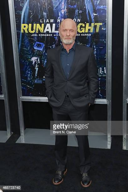 Actor Ed Harris arrives for the Run All Night New York Premiere at AMC Lincoln Square Theater on March 9 2015 in New York City