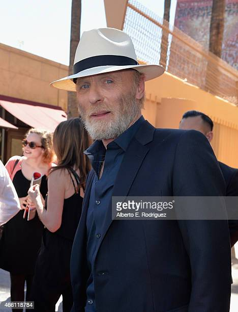 Actor Ed Harris attends a ceremony honoring him with the 2546th Star on the Hollywood Walk Of Fame on March 13 2015 in Hollywood California