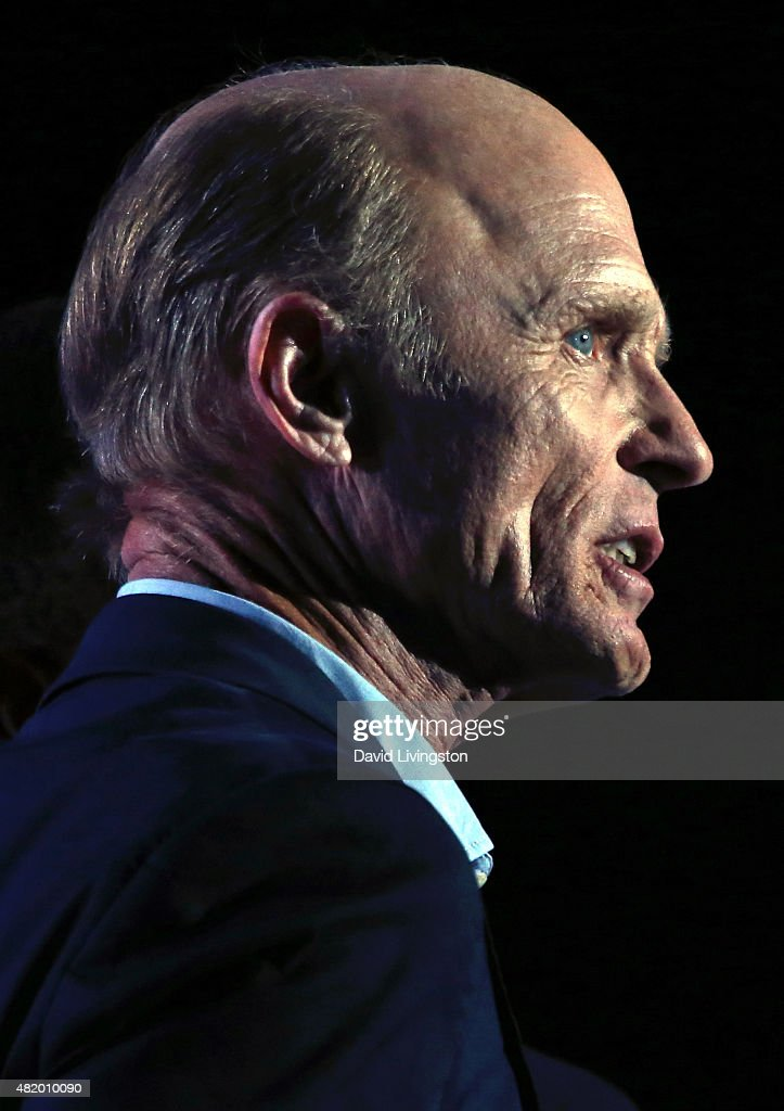 Actor Ed Harris attends the opening ceremony of the Special Olympics World Games Los Angeles 2015 at the Los Angeles Memorial Coliseum on July 25, 2015 in Los Angeles, California.