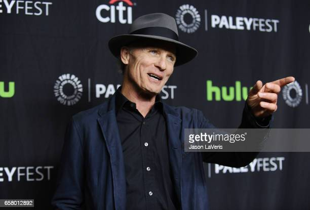 Actor Ed Harris attends the Westworld event at the Paley Center for Media's 34th annual PaleyFest at Dolby Theatre on March 25 2017 in Hollywood...