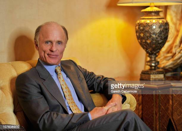 Actor Ed Harris during a portrait session at the 7th Annual Dubai International Film Festival held at the Madinat Jumeriah Complex on December 15...