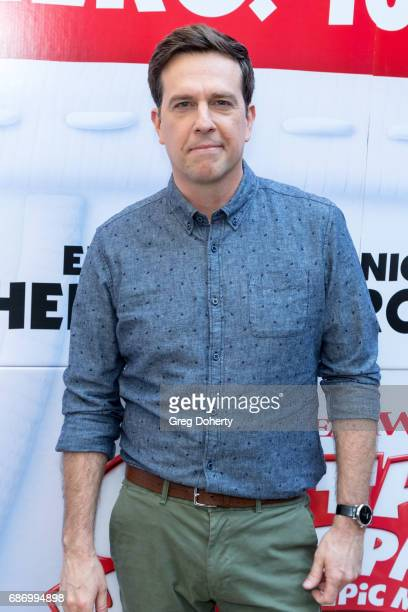 Actor Ed Helms and 'Voice of Captain Underpants' attends the Education Through MusicLos Angeles hosts screening of 'Captain Underpants The First Epic...