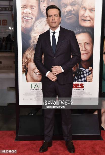 Actor Ed Helms arrives at the premiere of Warner Bros Pictures' 'Father Figures' at TCL Chinese Theatre on December 13 2017 in Hollywood California