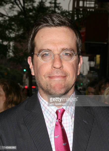 """Actor Ed Helms attends the Cinema Society & Bing screening of """"The Hangover Part II"""" at Landmark Sunshine Cinema on May 23, 2011 in New York City."""