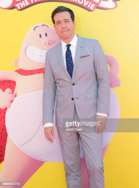 Actor Ed Helms attends the Premiere Of 20th Century Fox's 'Captain Underpants The First Epic Movie' at Regency Village Theatre on May 21 2017 in...