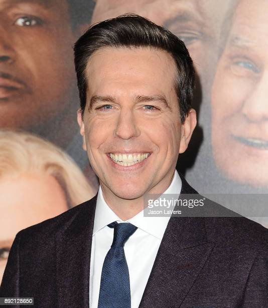 Actor Ed Helms attends the premiere of 'Father Figures' at TCL Chinese Theatre on December 13 2017 in Hollywood California