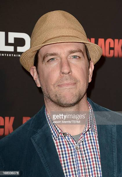 Actor Ed Helms attends the screening of LD Entertainment's Black Rock at ArcLight Hollywood on May 8 2013 in Hollywood California