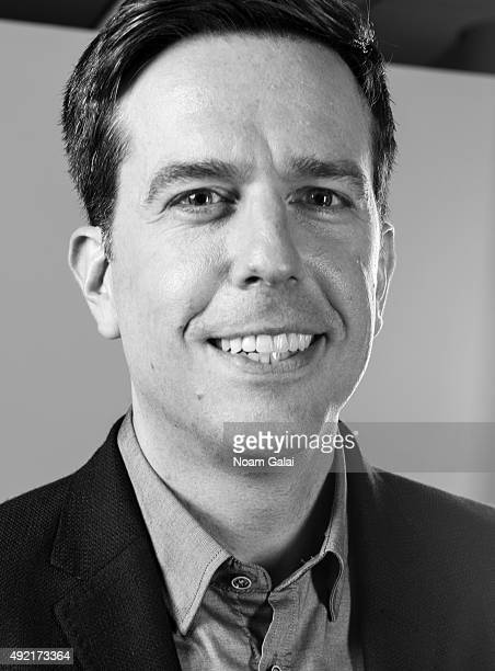 Actor Ed Helms poses for a portrait on July 29 2015 in New York City