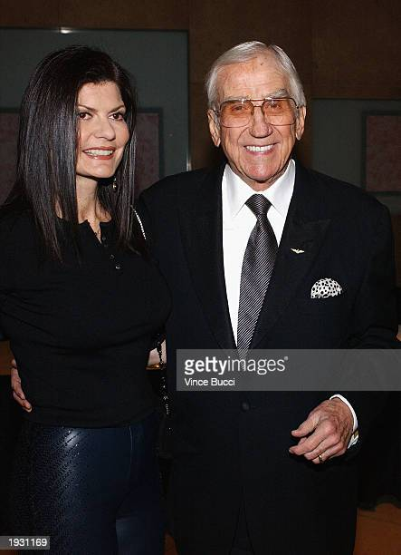 Actor Ed McMahon and his wife Pam attend the Beverly Hills Ball 50th Anniversary Gala and benefit on April 14 2003 in Beverly Hills California