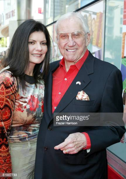 Actor Ed McMahon and wife Pam arrive for the MGM Premiere of 'Sleepover' at the Archlight Cinerama Dome June 27 2004 in Hollywood