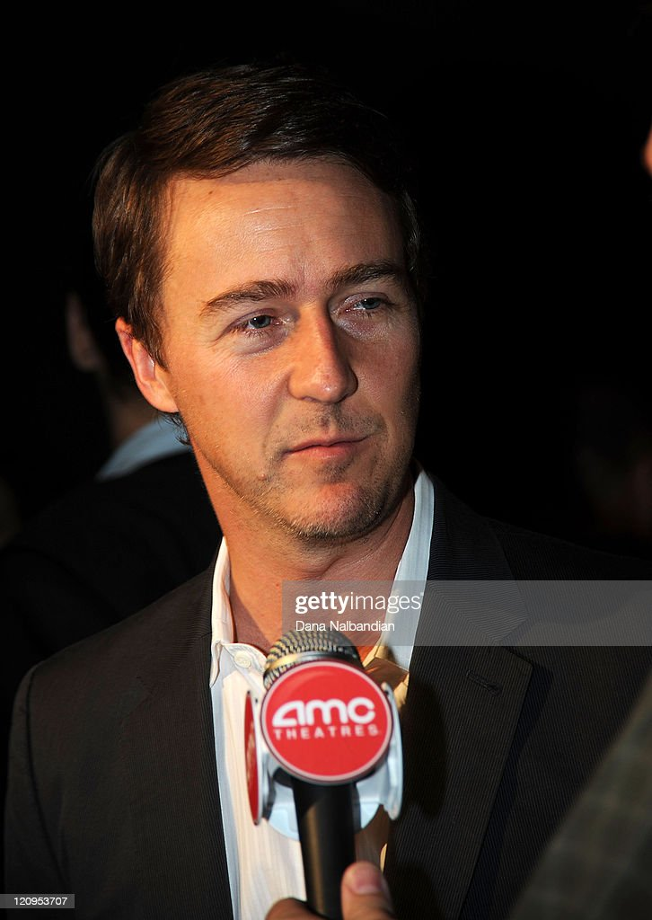 Actor Ed Norton answers questions at the at Egyptian Theater, Seattle on June 4, 2010 in Seattle, Washington.