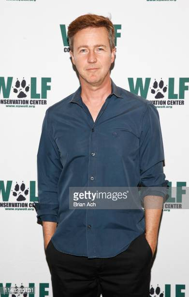 Actor Ed Norton is seen during Strong And Wild: Wolf Conservation Center 20th Anniversary Gala at Spring Place on June 5, 2019 in New York City.