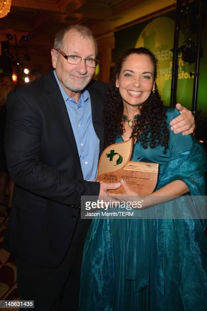 Actor Ed O'Neill and Catherine Rusoff attend the 16th Annual Global Green USA Millennium Awards held at Fairmont Miramar Hotel on June 2 2012 in...