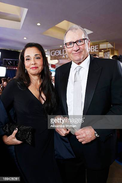 Actor Ed O'Neill and guest arrive at the 70th Annual Golden Globe Awards held at The Beverly Hilton Hotel on January 13 2013 in Beverly Hills...