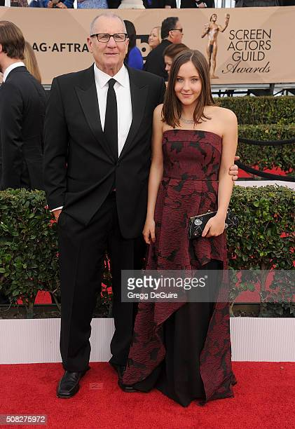 Actor Ed O'Neill and Sophia O'Neill arrive at the 22nd Annual Screen Actors Guild Awards at The Shrine Auditorium on January 30 2016 in Los Angeles...